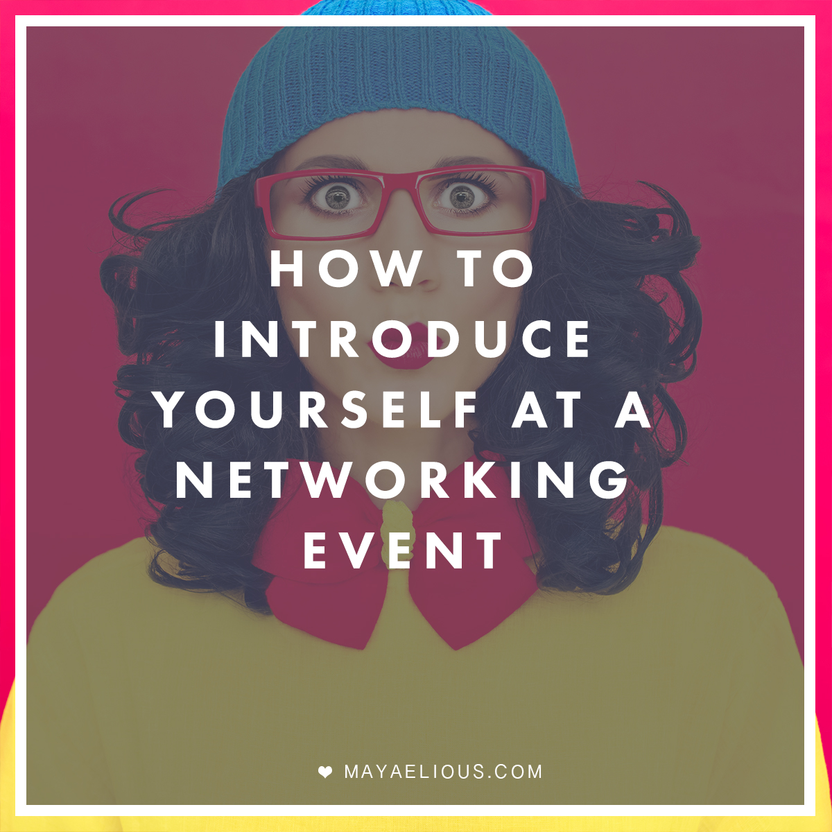 how to introduce yourself at a networking event a elious