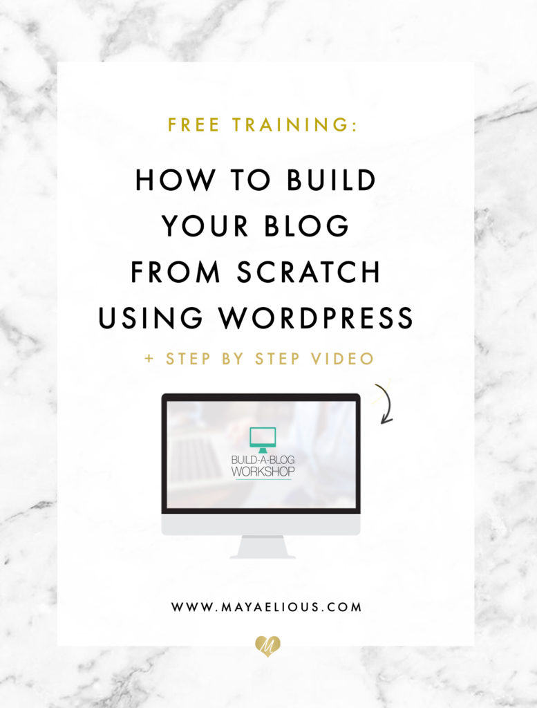 Build Your Blog From Scratch Using WordPress and Bluehost