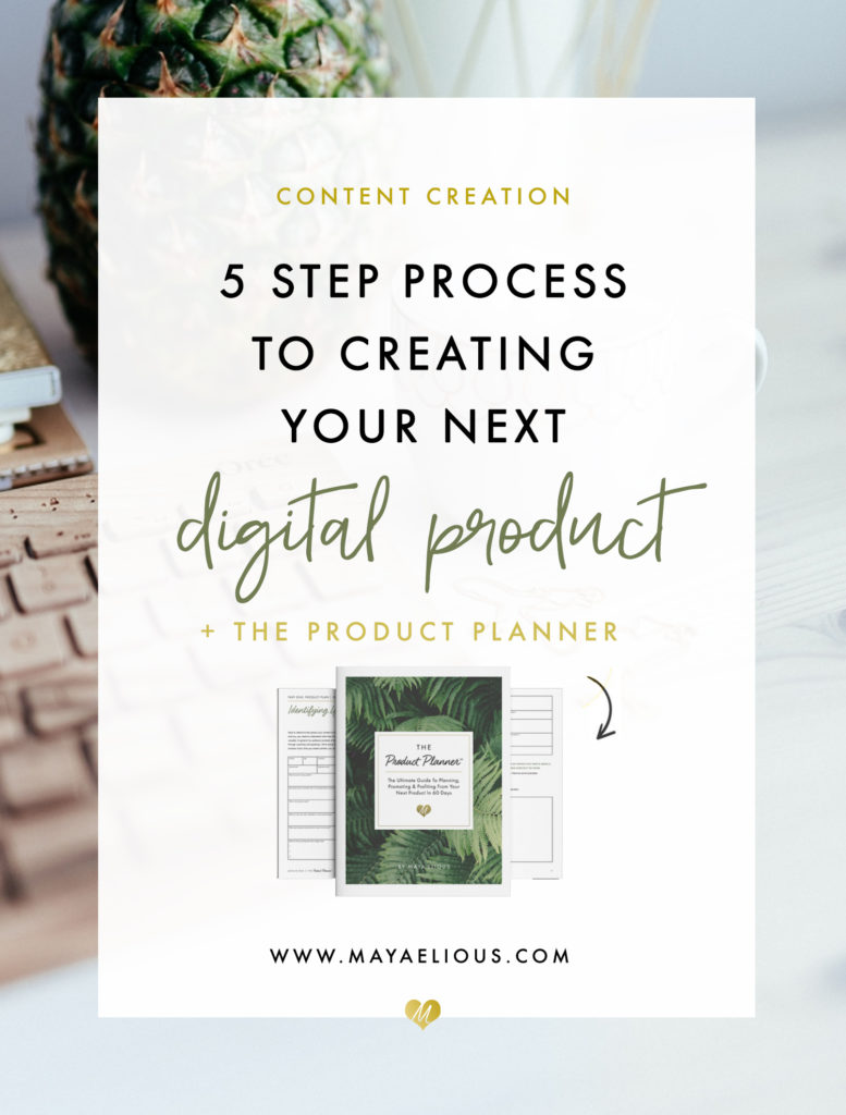 the step plan for creating an online product or service a contentcreationdigitalproduct