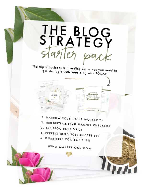 The Blog Strategy Starter Pack